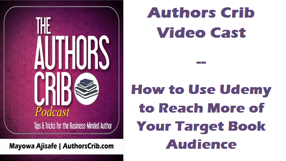 How to Use Udemy to Reach More of Your Target Book Audience